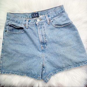 Vintage Gap High Waisted Denim Shorts